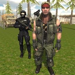 Commando Behind Enemy Defense