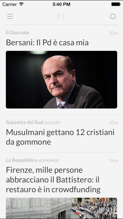 Giornali It review screenshots