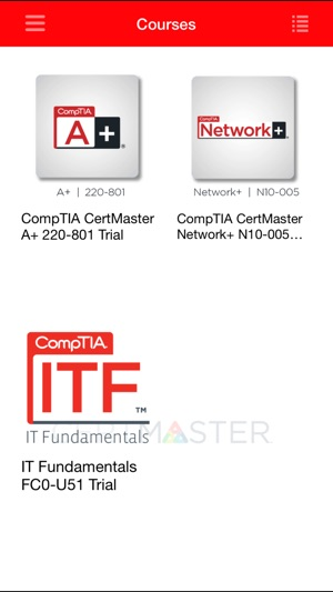 CompTIA CertMaster on the App Store