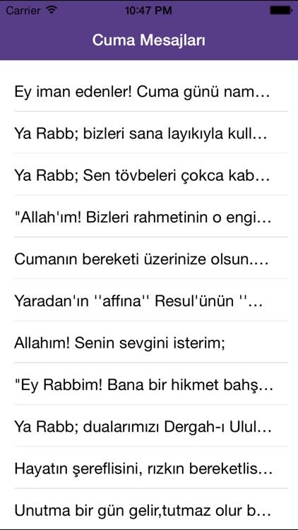Dini Cuma Mesajları