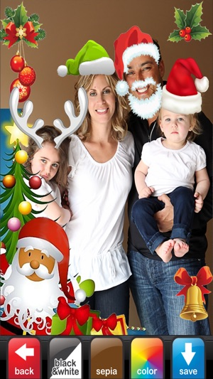 Merry christmas photo booth make yourself santa claus on the app store merry christmas photo booth make yourself santa claus on the app store solutioingenieria Image collections