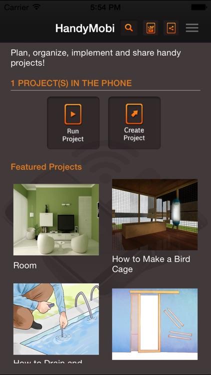 HandyMobi home improvement DIY screenshot-0