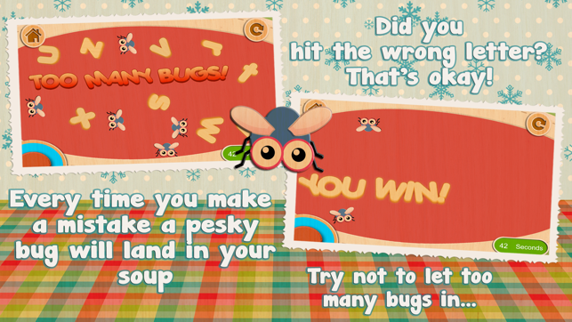 ‎Alphabet Soup - Cutie Mini Monsters Screenshot