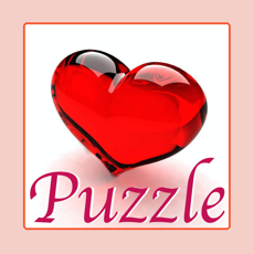 Activities of Tile Puzzle Pro - Love Edition with romantic images of loving couple, sweet heart, passionate kisses...