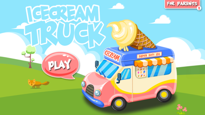 Ice Cream Truck -  Educational Puzzle Game for Kids screenshot one