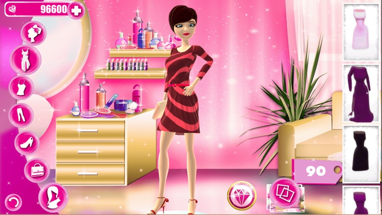 Top Model Dress Up: Hair Salon & Makeup Studio screenshot-2