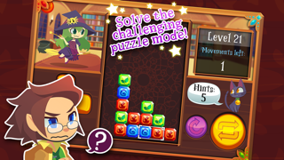 Magic Match - Matching Puzzle Game with Mage Characters screenshot two