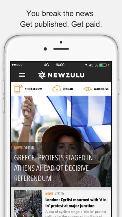 Newzulu, you break the news screenshot-3