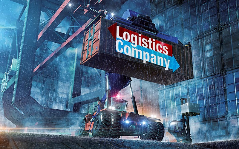 Logistics Company screenshot 1