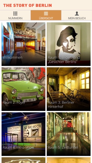 story of berlin guide app im app store. Black Bedroom Furniture Sets. Home Design Ideas