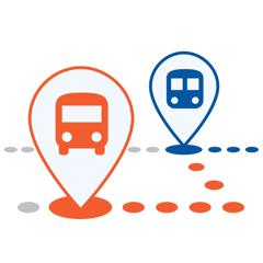 ezRide Philadelphia SEPTA - Transit Directions for Bus, Subway and Rail including Offline Planner