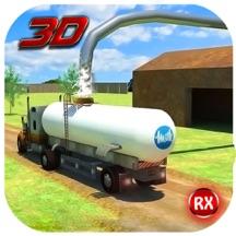 运输卡车:牛奶供应