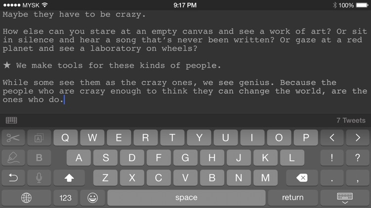 TextCrafter 2 ~ Craft & Share Text screenshot-3