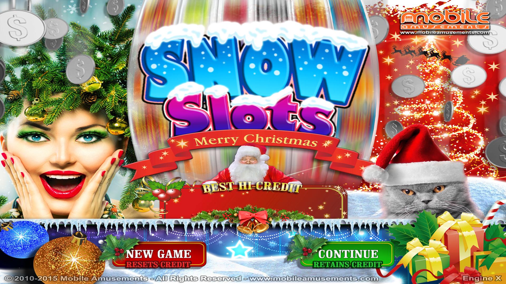 Snow Slots Merry Christmas TV screenshot 1