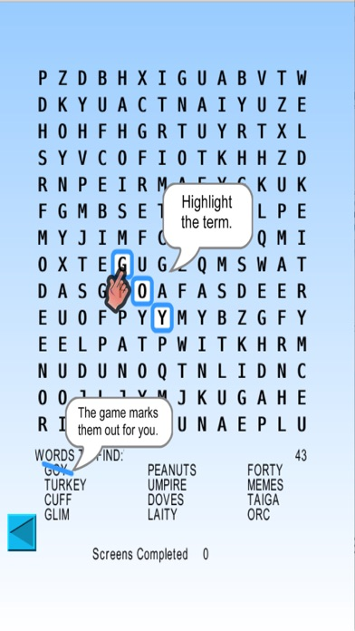 Word Search Blitz, blitz rounds of wordsearch screenshot four