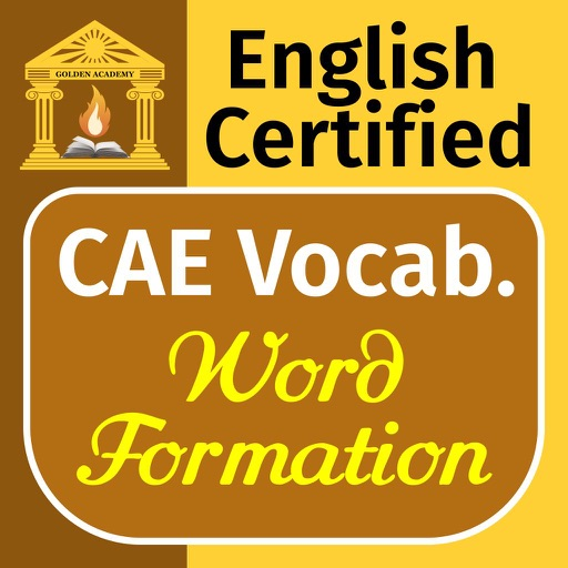 English Certified : CAE Vocabulary - Word Formation