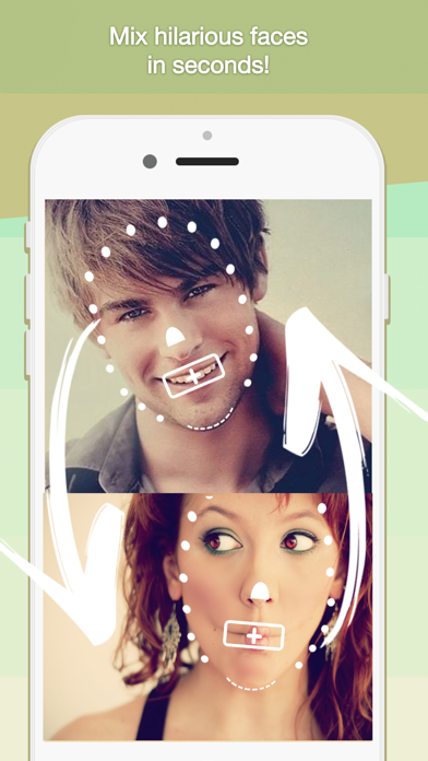 Face Mix Booth: Swap, combine, and fuse faces!のおすすめ画像1