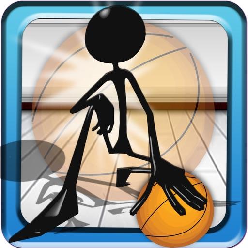 Stickman Basketball Hoop Toss Extreme