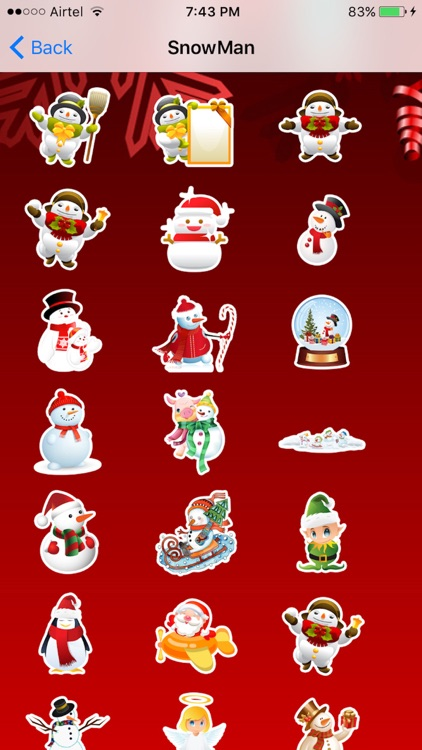 Christmas Emoji + Animated Emojis screenshot-4