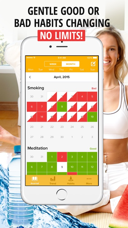 Habits.Tracker for Weight Loss & Healthy Lifestyle