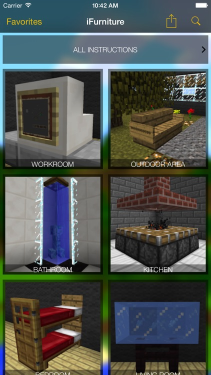 iFurniture: Designs for Minecraft Furniture
