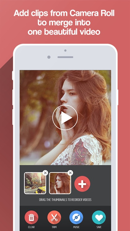 Merge Video + Combine and Mix Movie Clips & Slideshows Together for Vine and Instagram