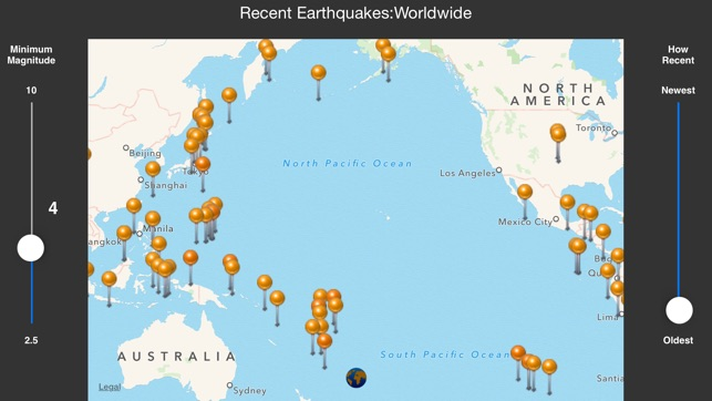 Ifeltthat earthquake on the app store iphone screenshots gumiabroncs Image collections