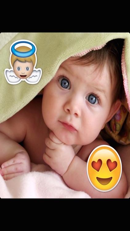 Simple Emoji Sticker - Best Photo Emoticon Maker with Picture Editor for Cute Camera Selfie screenshot-3