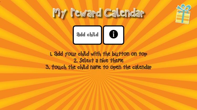 My Reward Calendar - Reward your kids for behaviors, tasks, chores and goals screenshot-3