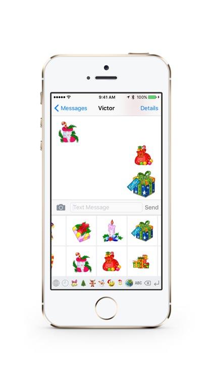 Christmas GIF Keyboard screenshot-4