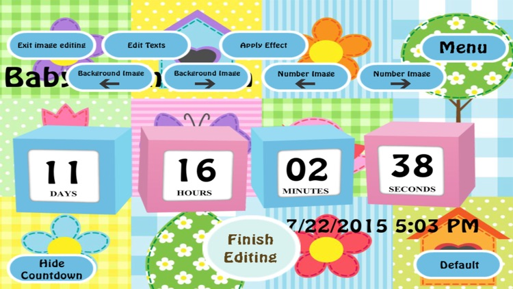 Baby Countdown app screenshot-2
