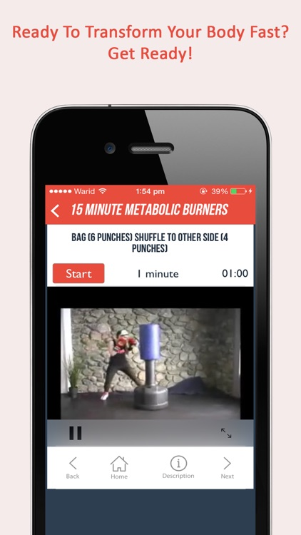 Fitgirl Metabolic Burners : 50, 15 minute weight loss workout for ladies screenshot-3