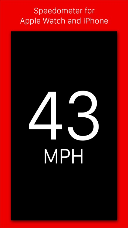 Speedometer - Speed tracking app for iPhone and Apple Watch