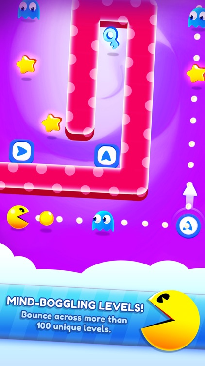 PAC-MAN Bounce - Puzzle Adventure screenshot-0