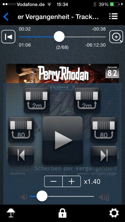 Audiobook and Podcast Player