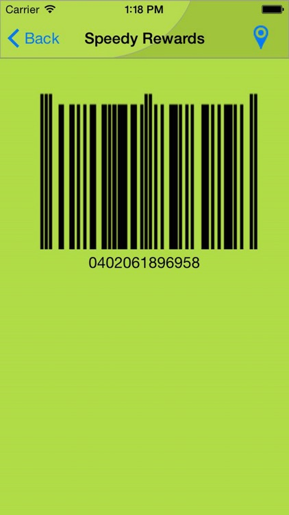 Mobile Key Ring - Barcode Rewards Shopper's Card