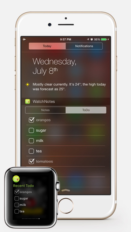 WatchNotes - Notes/Memo/Todo/Checklist for Apple Watch screenshot-3