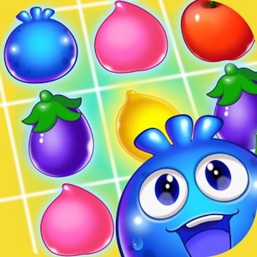 Fruit Heroes - 3 match bust puzzle game