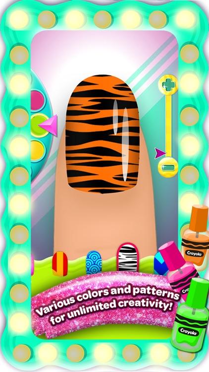 Crayola Nail Party – A Nail Salon Experience screenshot-3