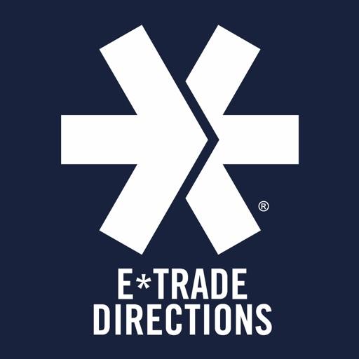 E*TRADE Directions icon