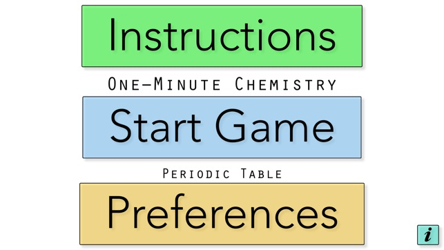 1 minute chemistry periodic table free on the app store urtaz Choice Image
