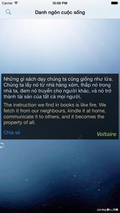 Danh ngôn cuộc sống screenshot four