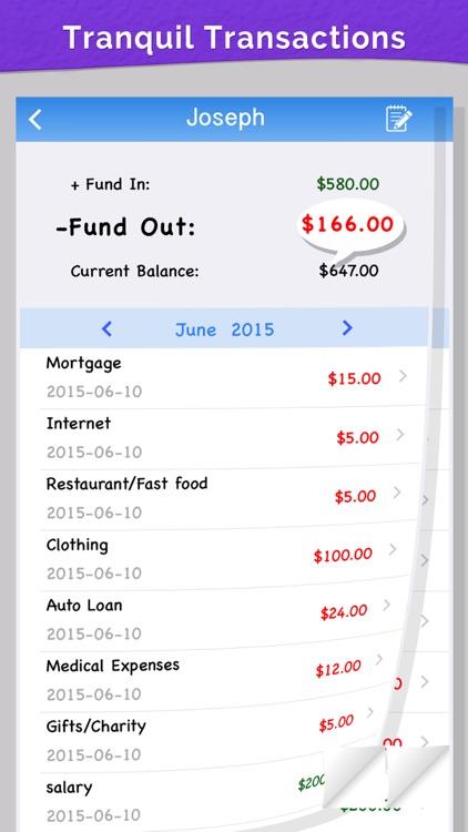 Home Budget on Go screenshot-4