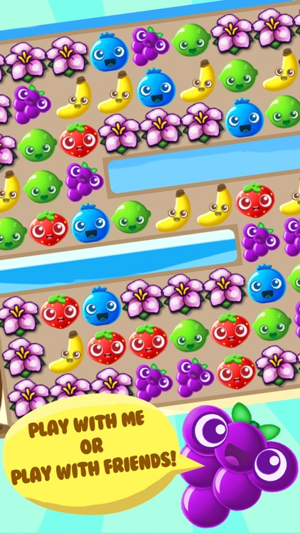 Fruits and Friends - Best Match 3 Puzzle Game screenshot-3