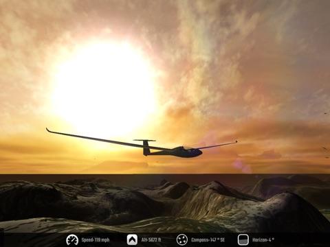 Screenshot #4 for Glider - Soar the Skies