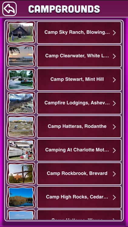 North Carolina Campgrounds Offline Guide