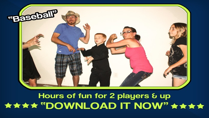 CHARADES FREE - Multiplayer word trivia for friends with new heads up timer Screenshot
