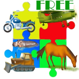 Cartoon Jigsaw Game for Babies and Toddlers HD Free