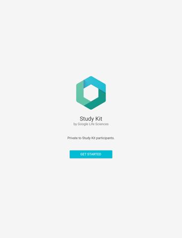 Screenshot of Google Life Sciences Study Kit