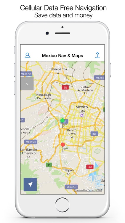 Mexico Offline Maps & Offline Navigation screenshot-0